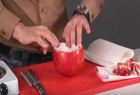 Кальян на гранате - способ приготовления экзотического кальяна