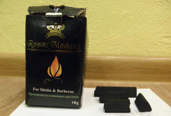 Уголь из оливковых косточек для кальяна - в чём преимущество и разница с другими углями