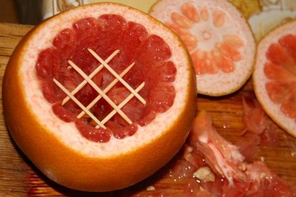 Кальян на грейпфруте - способ приготовления экзотического кальяна