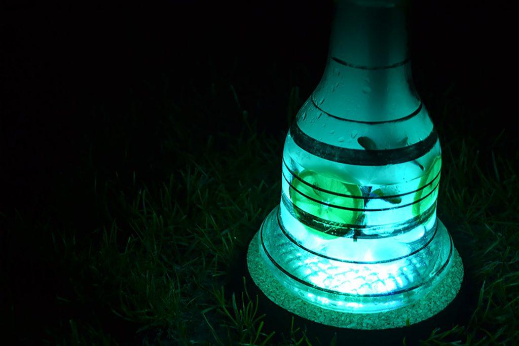 Как сделать светодиодную подсветку колбы кальяна своими руками
