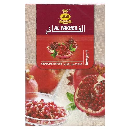 Свежие и яркие миксы с Al Fakher Гранат