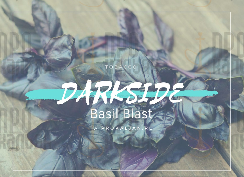 Табак DarkSide Basil Blast