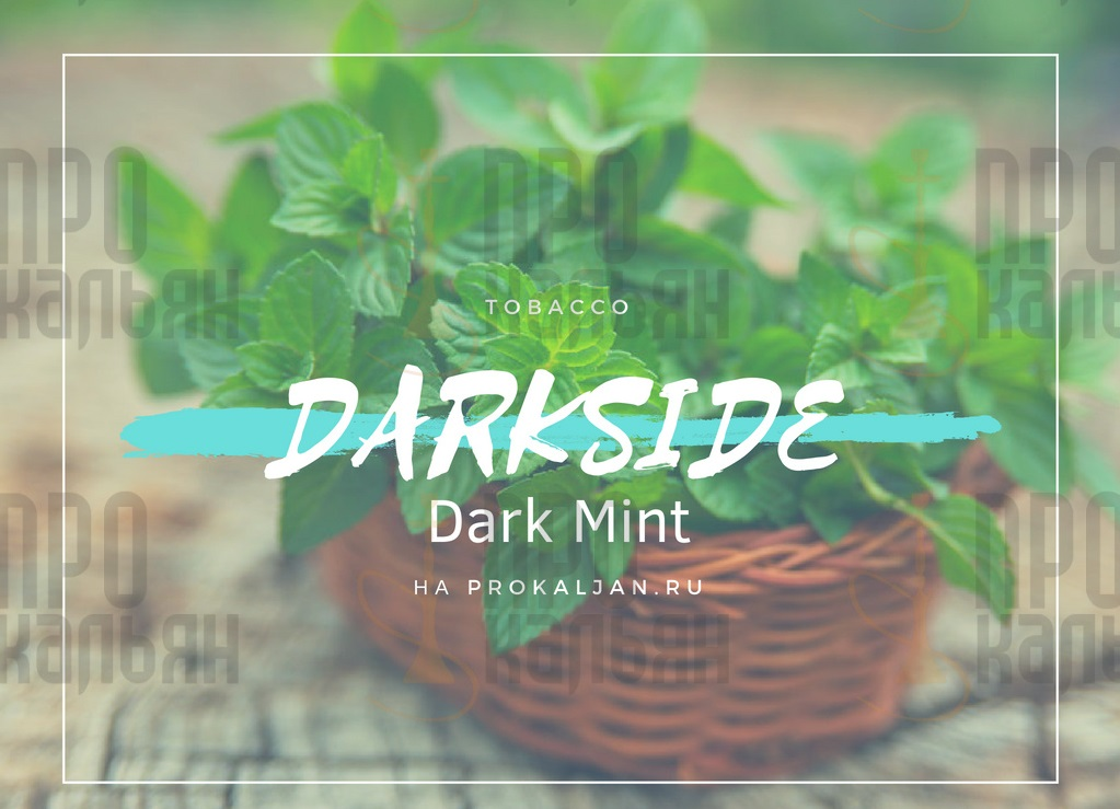 Табак DarkSide Dark Mint