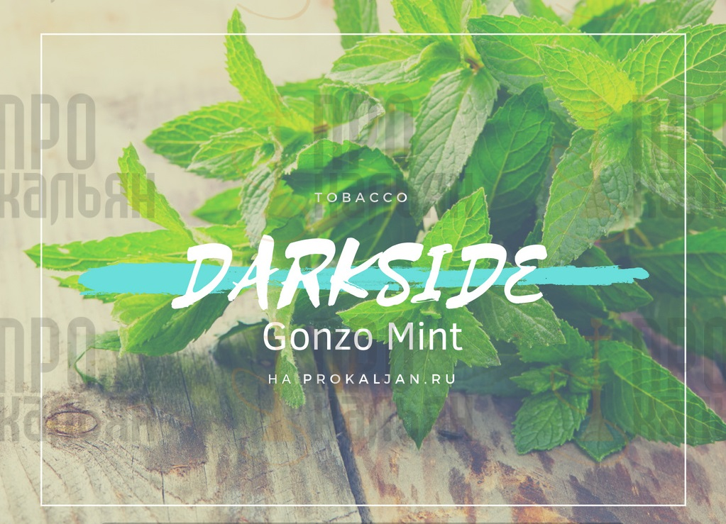 Табак DarkSide Gonzo Mint