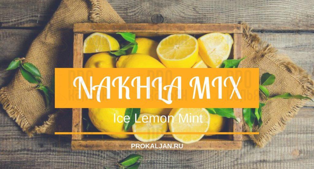 NAKHLA MIX Ice Lemon Mint