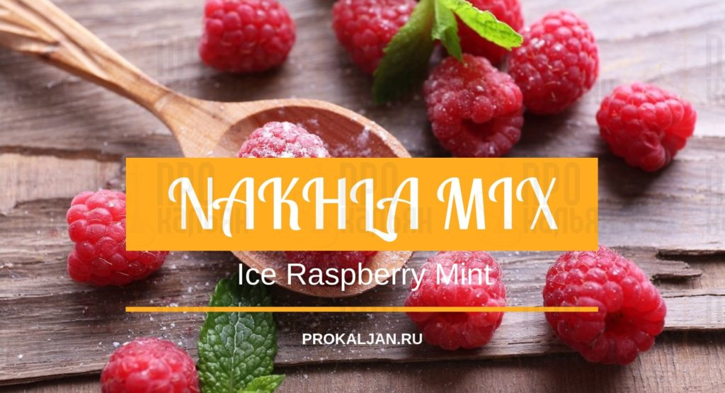 NAKHLA MIZO Ice Raspberry Mint