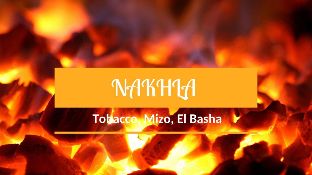 NAKHLA MIZO, Tobacco, El Basha - легкие и ароматные линейки
