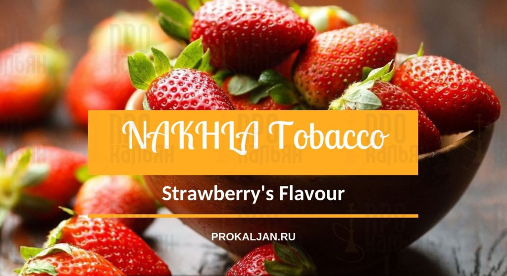 NAKHLA TOBACCO Strawberry's Flavour