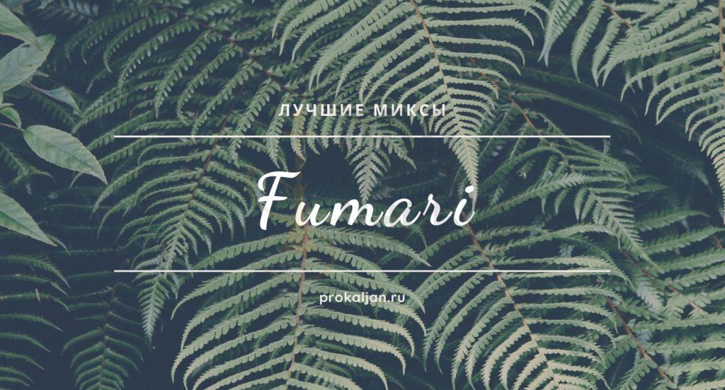Табак для кальяна Fumari - лучшие миксы