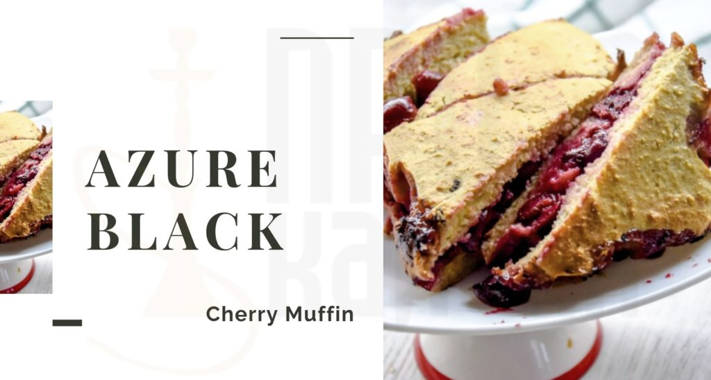 Табак для кальяна AZURE Black Cherry Muffin