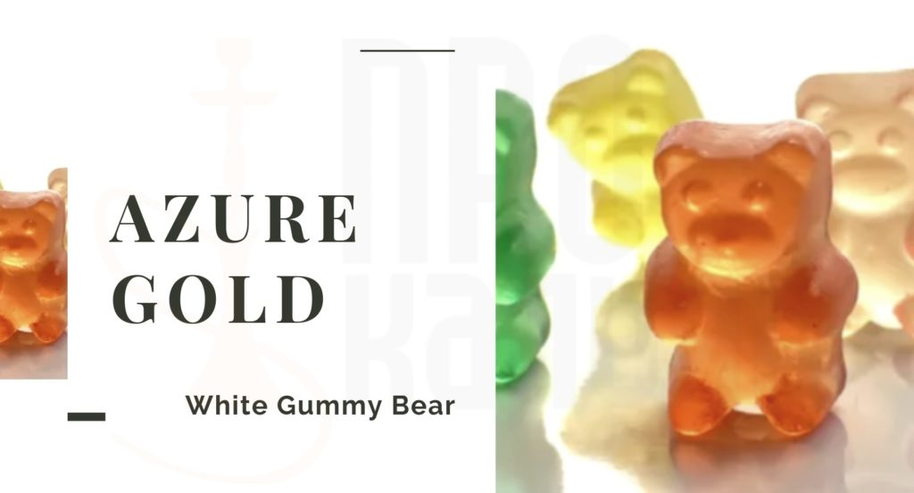 AZURE White Gummy Bear