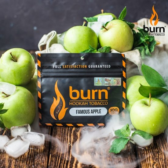 Табак для кальяна Burn Famous_apple