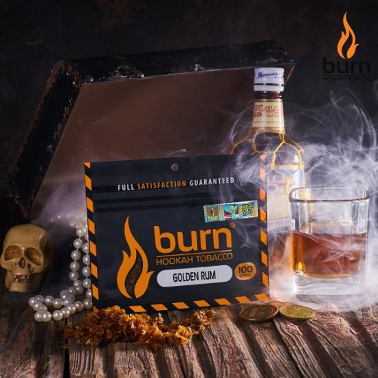 Табак для кальяна Burn GOLDEN-RUM