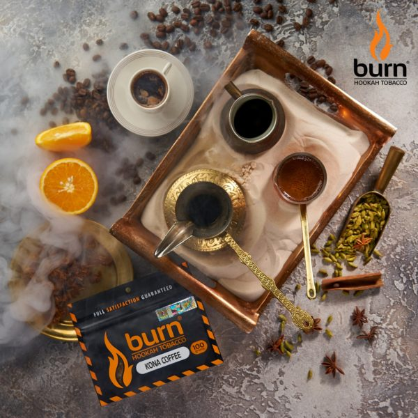 Табак для кальяна Burn Kona-coffee