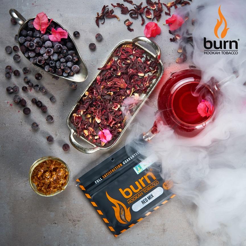 Табак для кальяна Burn RED-MIX