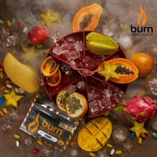 Табак для кальяна Burn Tsunami